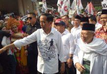 Joko Widodo Dan Ma'ruf Amin.