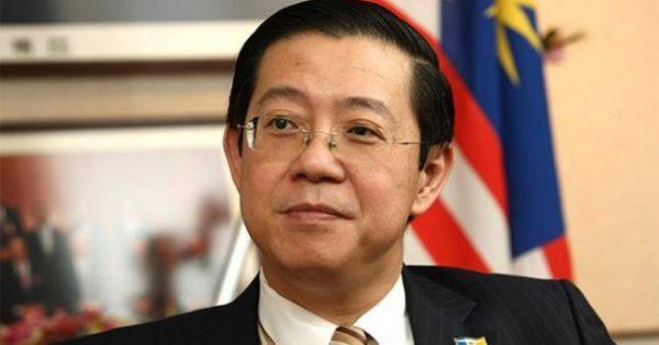 Menteri Keuangan Malaysia Lim Guan Eng.