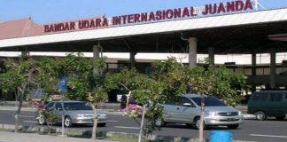 Bandara Internasional Juanda Surabaya.