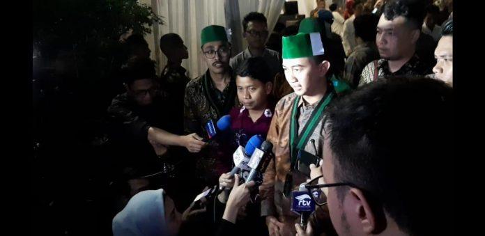 Ketua Dewan Penasihat Majelis Nasional Korps Alumni Himpunan Mahasiswa Islam (KAHMI), Akbar Tandjung.