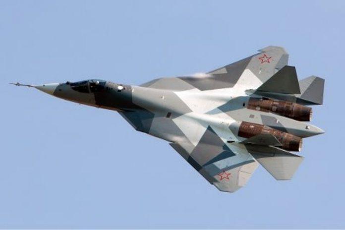Jet Tempur Rusia.