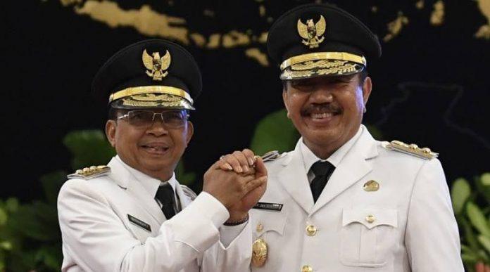 Gubernur Bali I Wayan Koster bersama Wakil Gubernur Tjokorda Oka Artha Ardhana Sukawati.