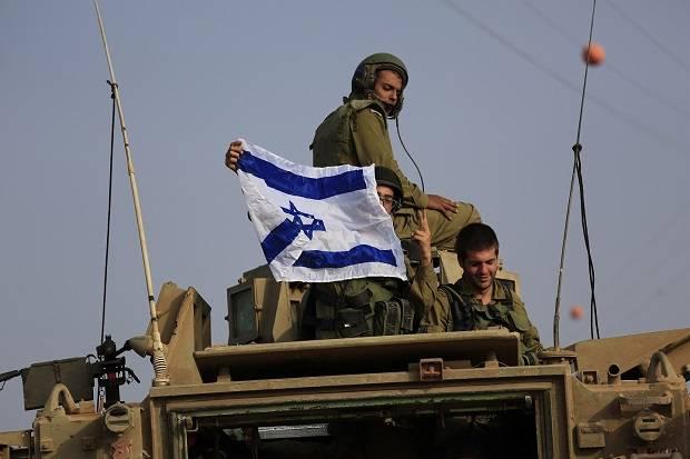 Ilustrasi Simulasi Perang Israel.