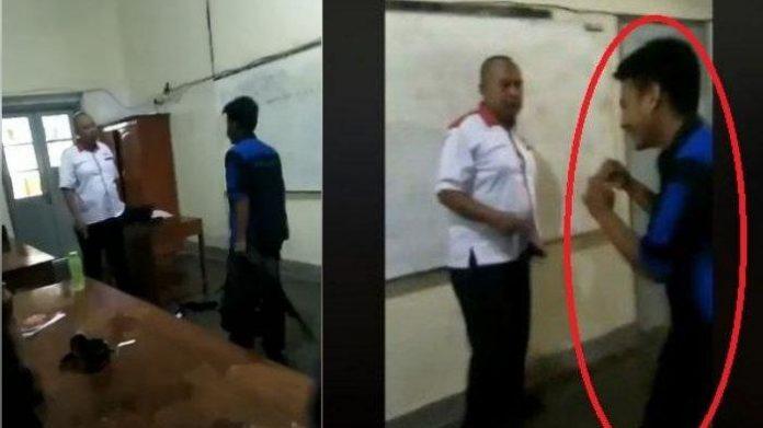 Terjadi Lagi Video Viral Siswa SMK Tantang Guru.