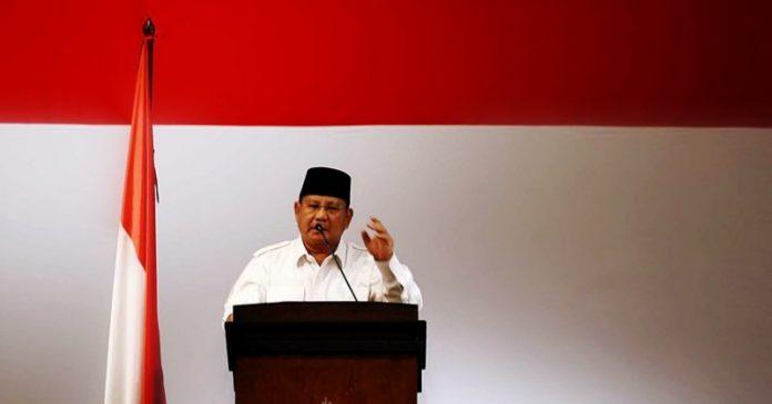 Calon Presiden Nomor Urut 02 Prabowo Subianto.