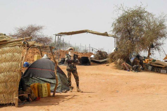 Ilustrasi Pembantaian di Mali.