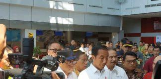 Presiden Jokowi di Bangka Belitung.