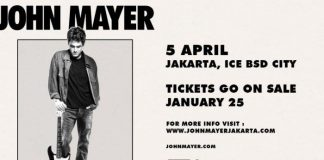 Konser John Mayer 2019.