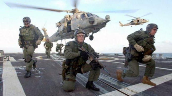 Ilustrasi Operasi Militer Rahasia.