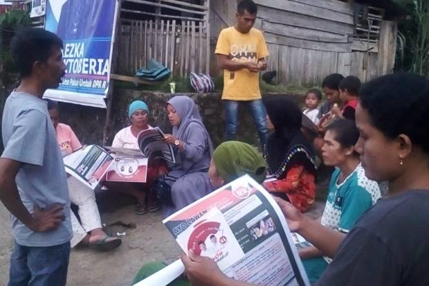 Relawan Jokowi-Ma'ruf Amin Terus Gerilya di Basis Prabowo