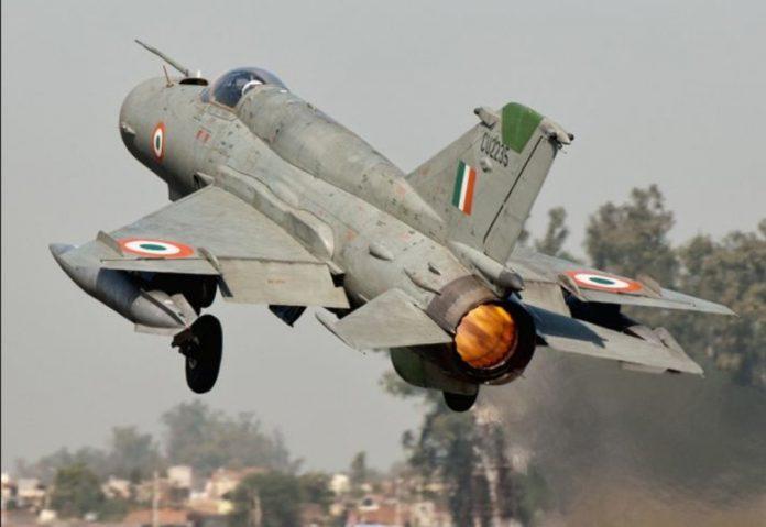Ditabrak Burung, Jet Tempur MiG-21 India Jatuh di Dekat Pakistan.