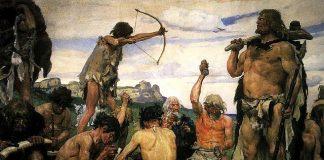 Ilustrasi Zaman Neolitikum.