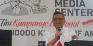 Sekretaris TKN Jokowi-Ma'ruf Hasto Kristiyanto.