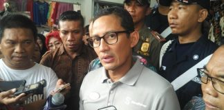 Cawapres Sandiaga Uno menanggapi perihal pernyataan Hashim Djojohadikusumo terkait struktur kabinet.