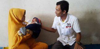 Bayi bernama Jokowi Ma'ruf asal Pasuruan.