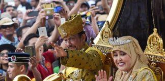 Sultan Hassanal Bolkiah.