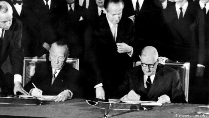 Jerman dan Prancis Menandatangani Perjanjian Damai.