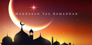 Marhaban Yaa Ramadhan.