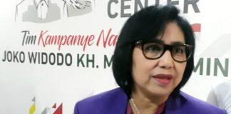 Juru Bicara Tim Kampanye Nasional (TKN) Jokowi-Ma'ruf Amin, Irma Suryani Chaniago.