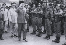 TNI diresmikan Presiden Soekarno.