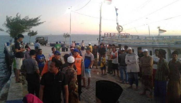 Kapal Motor Tenggelam di Sumenep,Madura.