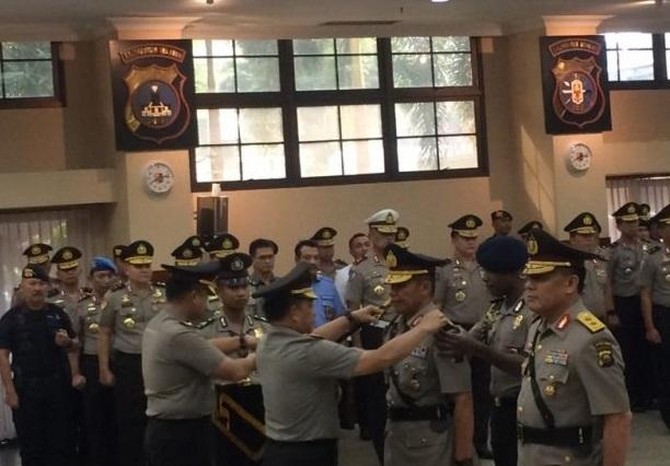 Tito Karnavian Lantik Mantan Deputi KPK Jadi Kapolda Sumatera Selatan.