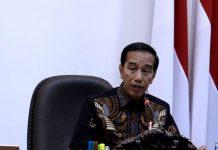 Presiden Jokowi .