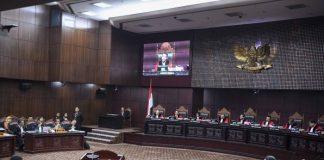 sidang lanjutan Perselisihan Hasil Pemilihan Umum (PHPU) Pilpres 2019.