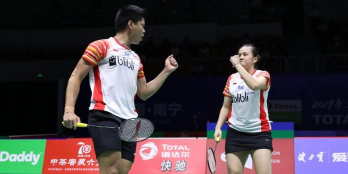 Sikat Unggulan Thailand, Praveen/Melati Tembus Semifinal/Badminton Indonesia.