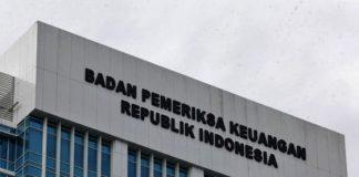 Gedung Badan Pemeriksa Keuangan (BPK) RI.