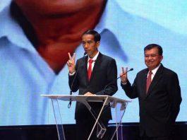 Jokowi-JK Menang Pilpres 2014.