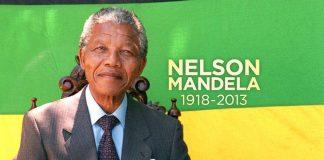 Nelson Mandela, pejuang kemerdekaan dan mantan presiden Afrika Selatan.