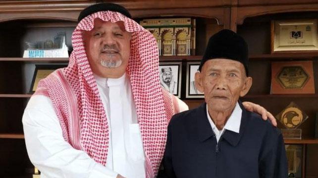Kakek 94 Tahun Diundang Raja Salman Tunaikan Ibadah Haji ke Tanah Suci.