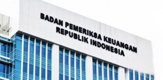 Gedung Badan Pemeriksa Keuangan RI.