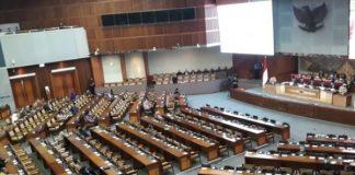 DPR RI Gelar Rapat Paripurna.