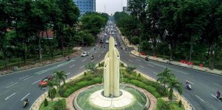 Monumen Bambu Runcing Surabaya.