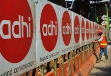 Adhi Karya (ADHI) Kantongi Laba Bersih Rp215 Miliar Semester I/2019.