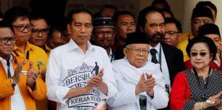 para parpol pendukung Jokowi-Ma'ruf.