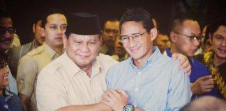 Prabowo-Sandi Tak Hadiri Penetapan Presiden dan Wapres Terpilih.