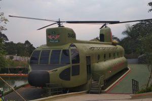 Basecamp Military Lifestyle di Puncak Bogor, Jawa Barat.