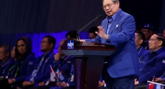 Ketua Umum Partai Demokrat Susilo Bambang Yudhoyono (SBY).