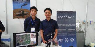 Robograss, Robot Pembasmi Rumput Liar Karya Mahasiswa ITB.