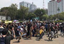 Warga Papua Gelar Aksi Damai ke Istana Merdeka.