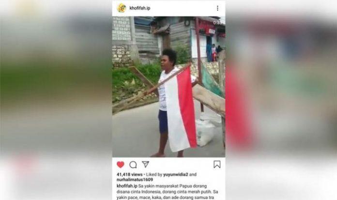 Dalam Dialek Papua, Khofifah Kirim Salam Papeda.