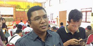 Ketua Bawaslu Bangkalan, Ahmad Mustain Saleh