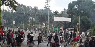 7 SSK Polri dan 2 SSK TNI Diterjunkan di Manokwari.