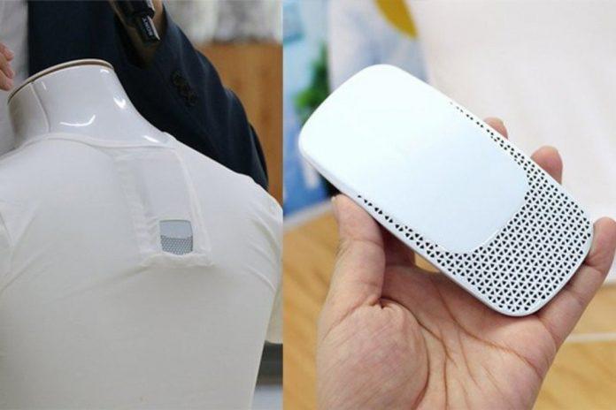 Produk Ini Serupa AC yang Nempel di Baju.