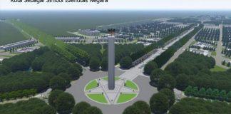 Ilustrasi Desain Ibu Kota Baru.