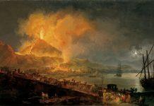 Letusan Gunung Vesuvius Lenyapkan Kota Pompeii.