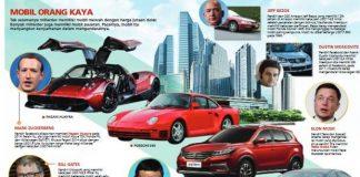 Miliarder Dengan Kekayaan Berlimpah Tak Malu Pakai Mobil Biasa.
